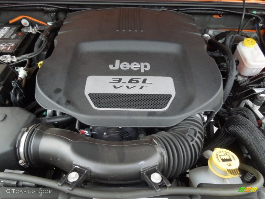 2013 Jeep Wrangler Unlimited Rubicon 4x4 3 6 Liter Dohc 24