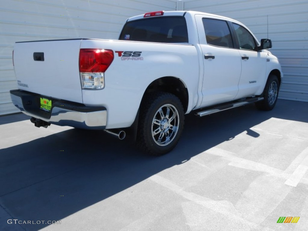 2013 Tundra TSS CrewMax - Super White / Graphite photo #4