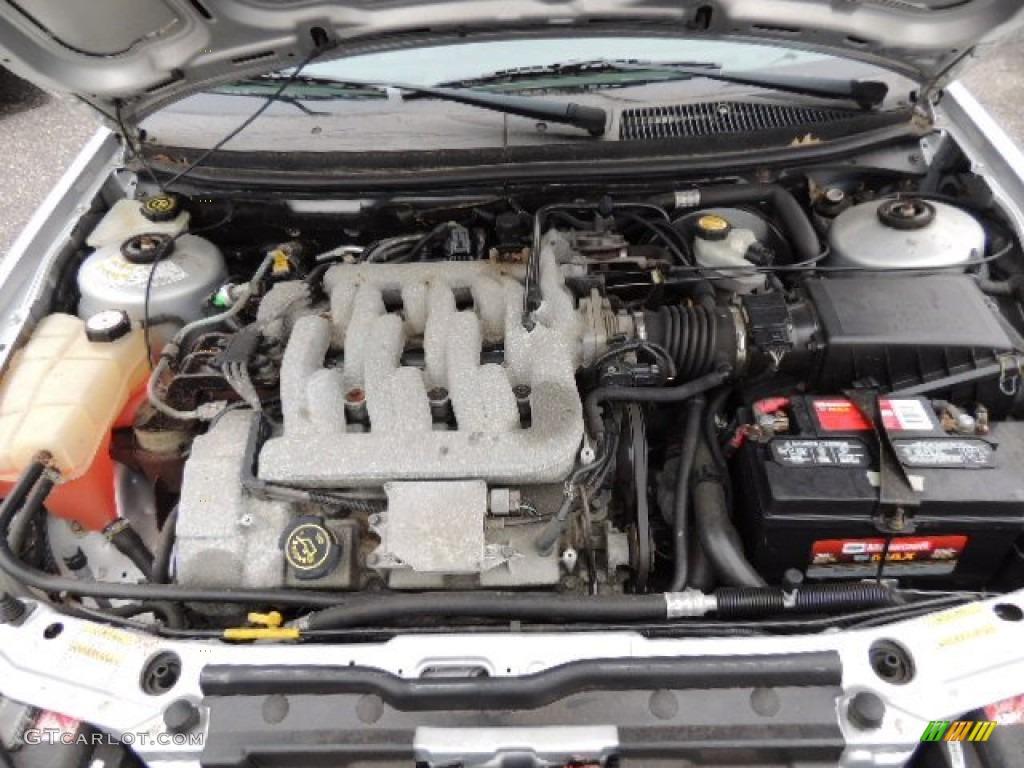 2000 Mercury Cougar V6 Engine Photos | GTCarLot.com