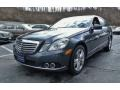 Steel Grey Metallic 2010 Mercedes-Benz E 350 4Matic Sedan