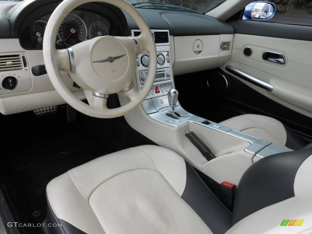 Dark slate gray vanilla interior 2006 chrysler crossfire - 2004 chrysler crossfire interior ...