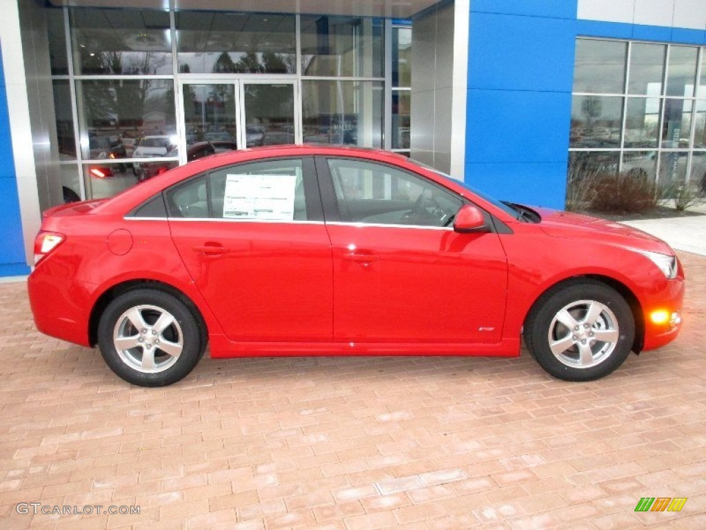 Victory Red 2013 Chevrolet Cruze Lt Rs Exterior Photo 77907013