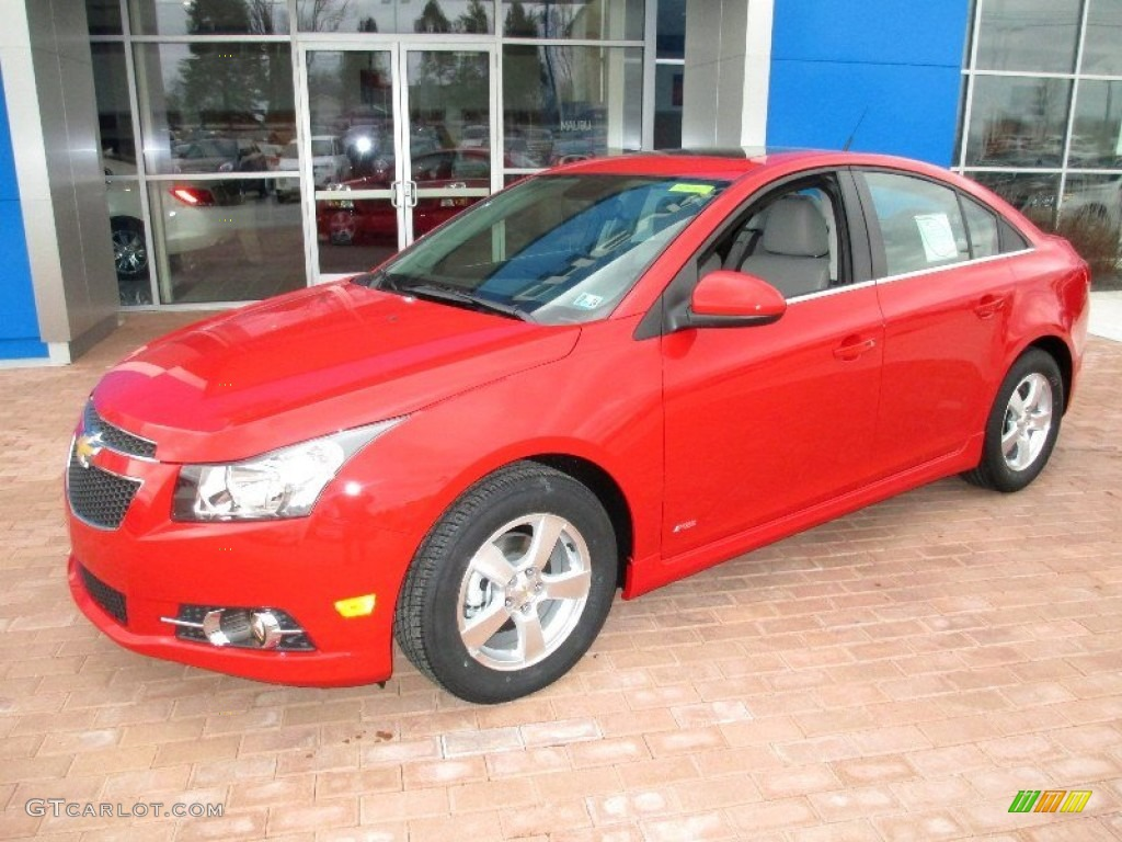 Victory Red 2013 Chevrolet Cruze Lt Rs Exterior Photo 77907109