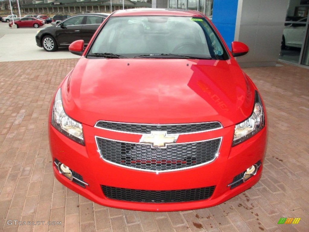 Victory Red 2013 Chevrolet Cruze Lt Rs Exterior Photo 77907172