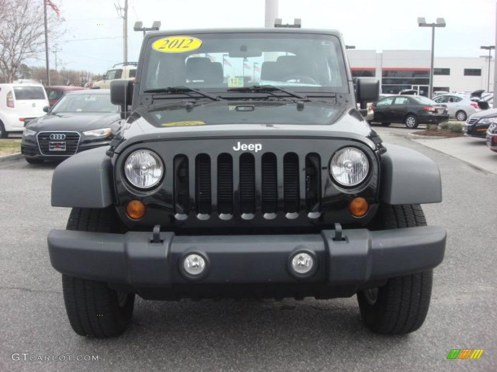 Black 2012 Jeep Wrangler Sport 4x4 Exterior Photo 77909995