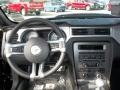 2013 Ford Mustang Charcoal Black Interior Dashboard Photo