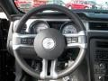 2013 Ford Mustang Charcoal Black Interior Steering Wheel Photo