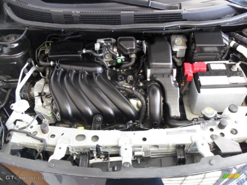 2012 Nissan Versa 1 6 S Sedan Engine Photos Gtcarlot Com