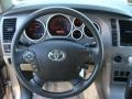 Sand Beige Steering Wheel Photo for 2010 Toyota Tundra #77933763
