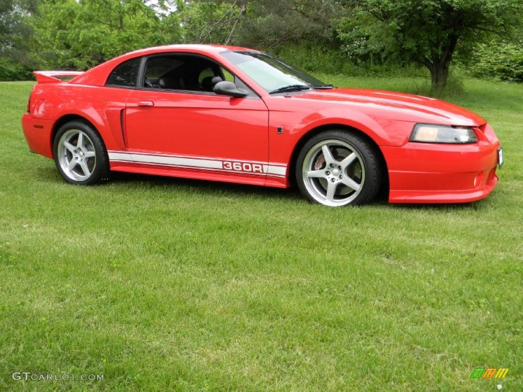 Torch Red 2002 Ford Mustang Roush Stage 3 Coupe Exterior Photo #77941770