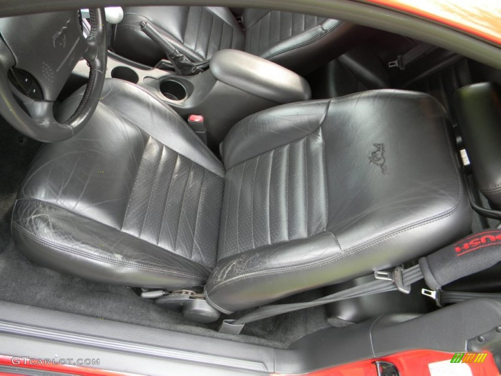 2002 Ford Mustang Roush Stage 3 Coupe Front Seat Photo #77941842