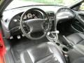 2002 Ford Mustang Dark Charcoal Interior Prime Interior Photo