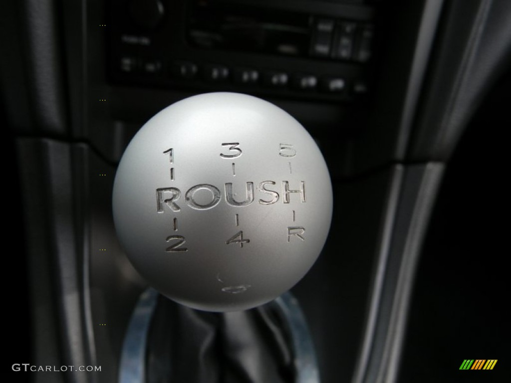 2002 Ford Mustang Roush Stage 3 Coupe Transmission Photos