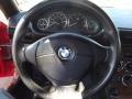 2002 BMW Z3 Dream Red Interior Steering Wheel Photo