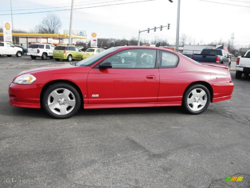 precision red 2007 chevrolet monte carlo ss exterior photo 77947657. Black Bedroom Furniture Sets. Home Design Ideas