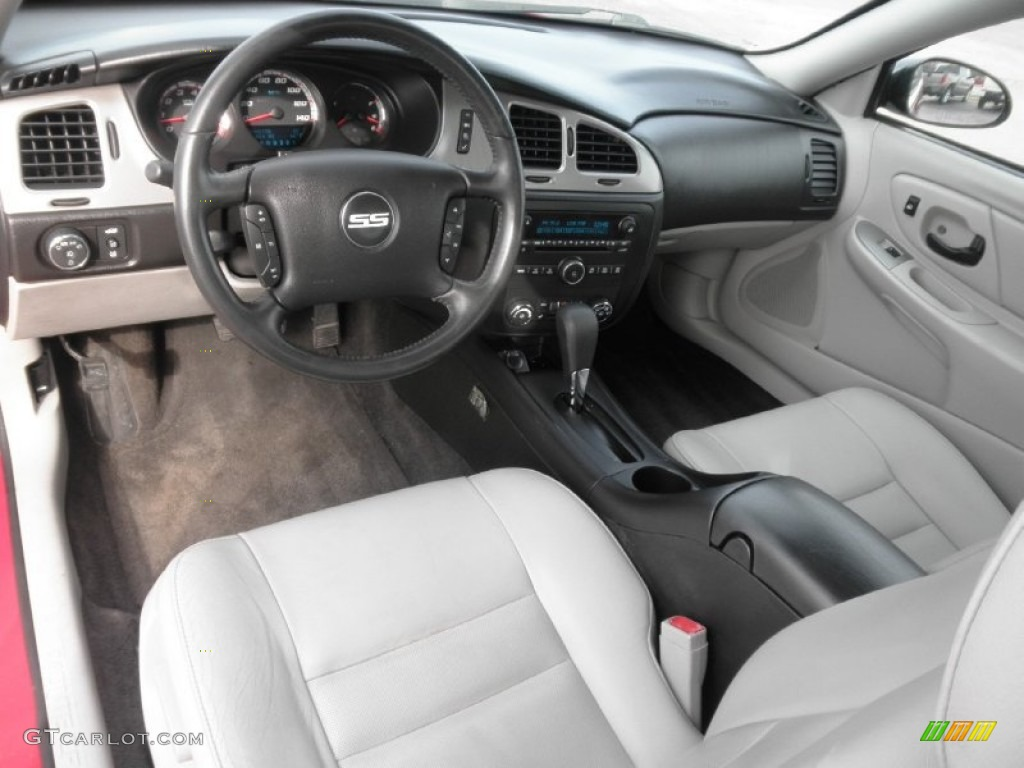 Gray Interior 2007 Chevrolet Monte Carlo Ss Photo 77947899