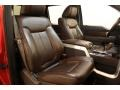 Sienna Brown Leather/Black 2010 Ford F150 Interiors