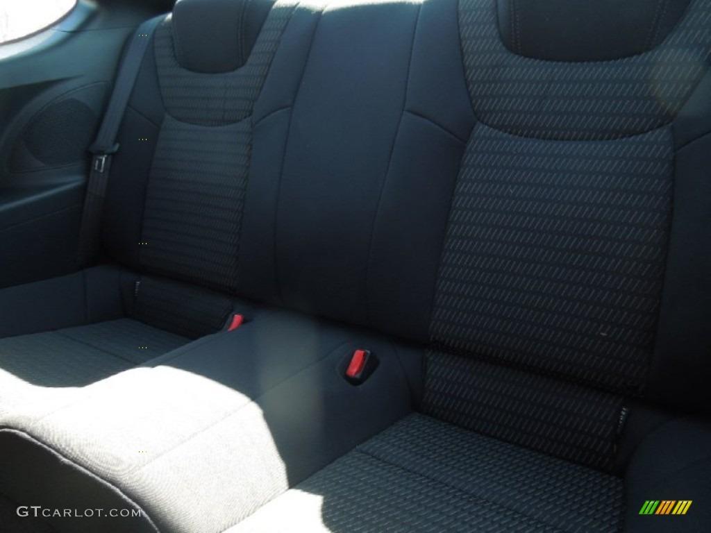 2013 Genesis Coupe 2.0T - Black Noir Pearl / Black Cloth photo #15