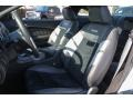 2011 Ford Mustang Charcoal Black/Black Interior Front Seat Photo