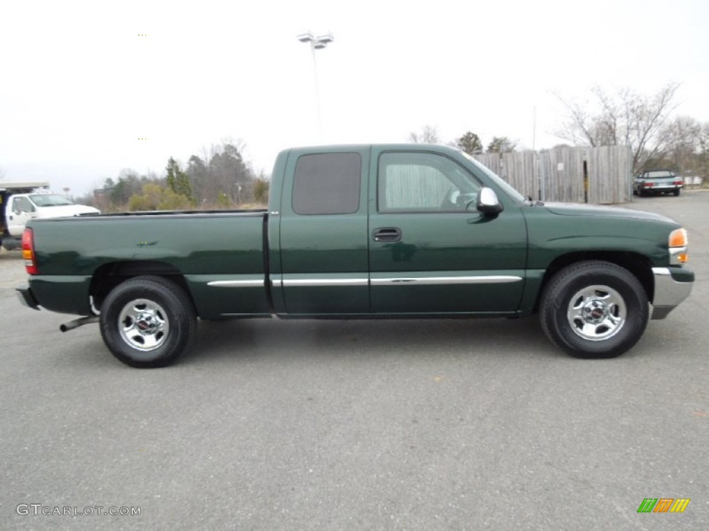 polo green metallic 2001 gmc sierra 1500 sle extended cab. Black Bedroom Furniture Sets. Home Design Ideas