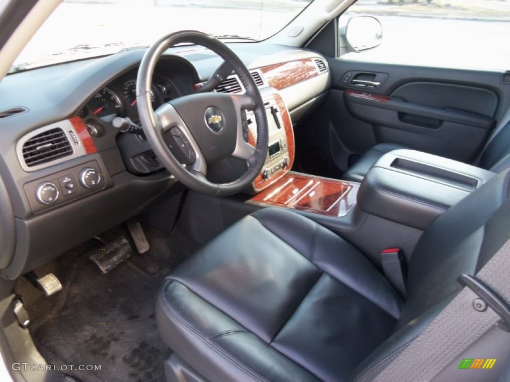 chevrolet avalanche interior ebony - photo #17