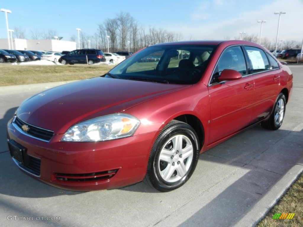 Sport Red Metallic 2006 Chevrolet Impala Ls Exterior Photo 77968042
