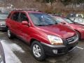 Volcanic Red 2005 Kia Sportage Gallery