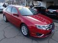2011 Red Candy Metallic Ford Fusion SEL V6 AWD  photo #2