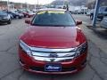 2011 Red Candy Metallic Ford Fusion SEL V6 AWD  photo #3
