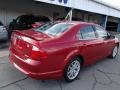 2011 Red Candy Metallic Ford Fusion SEL V6 AWD  photo #8