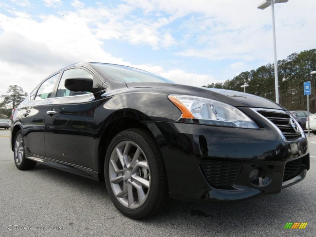 Nissan Sentra Sr 2000 >> Super Black 2013 Nissan Sentra SR Exterior Photo #77990537 | GTCarLot.com