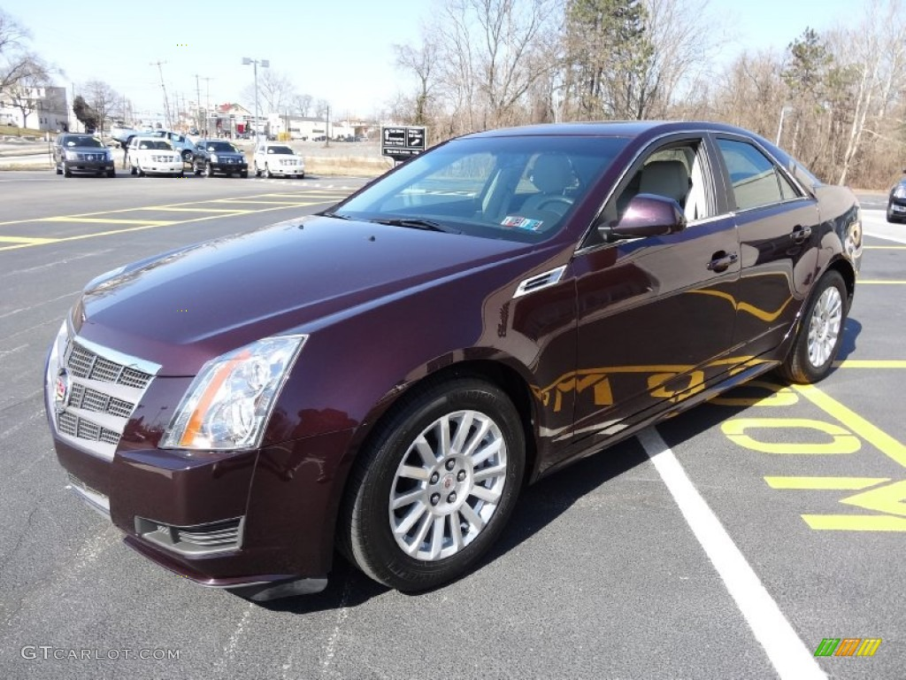 2010 black cherry cadillac cts 3 0 sedan 77961021 photo. Black Bedroom Furniture Sets. Home Design Ideas