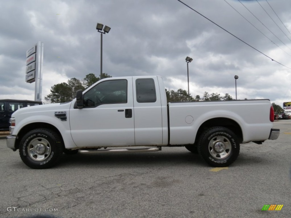 Oxford white 2008 ford f250 super duty xlt supercab exterior photo 77998778