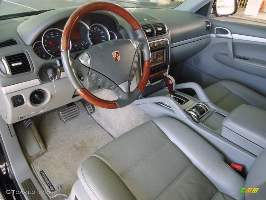 Stone Steel Grey Interior 2004 Porsche Cayenne S Photo 78005000
