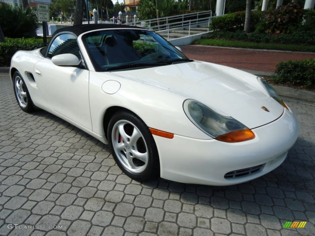 biarritz white 2000 porsche boxster standard boxster model. Black Bedroom Furniture Sets. Home Design Ideas
