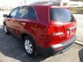2011 Spicy Red Kia Sorento LX AWD  photo #3