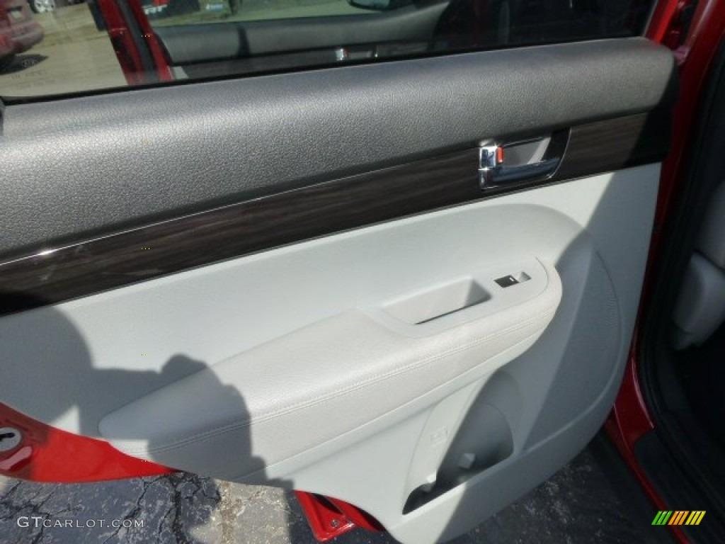2011 Sorento LX AWD - Spicy Red / Gray photo #12