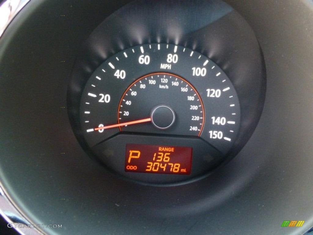 2011 Sorento LX AWD - Spicy Red / Gray photo #19