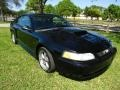 2001 Black Ford Mustang GT Coupe  photo #1