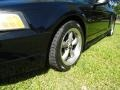 2001 Black Ford Mustang GT Coupe  photo #23