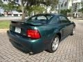 2002 Tropic Green Metallic Ford Mustang GT Coupe  photo #6