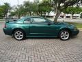 Tropic Green Metallic 2002 Ford Mustang GT Coupe Exterior
