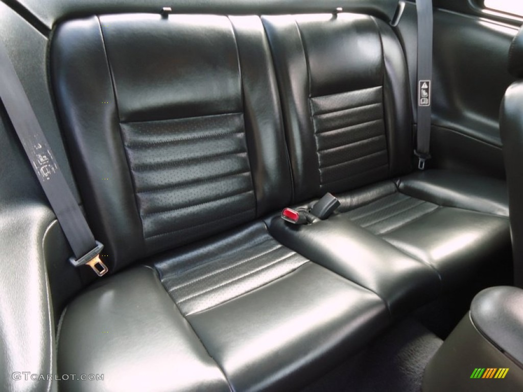 2002 Ford Mustang GT Coupe Rear Seat Photos