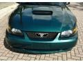2002 Tropic Green Metallic Ford Mustang GT Coupe  photo #34