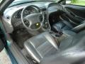 Dark Charcoal 2002 Ford Mustang GT Coupe Interior Color