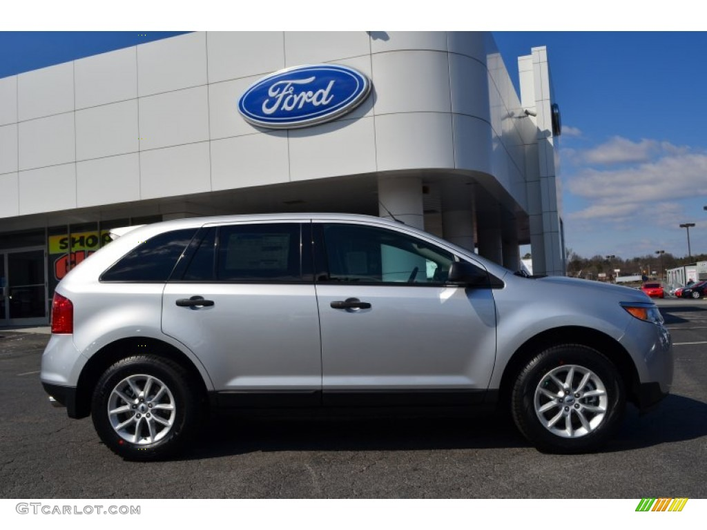 Ingot Silver Metallic 2013 Ford Edge Se Exterior Photo 78025459