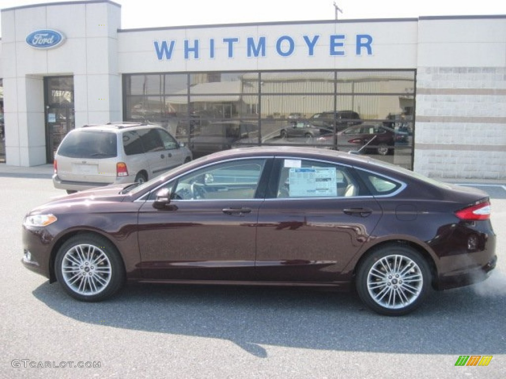 2013 Fusion SE 2.0 EcoBoost - Bordeaux Reserve Red Metallic / Dune photo #1