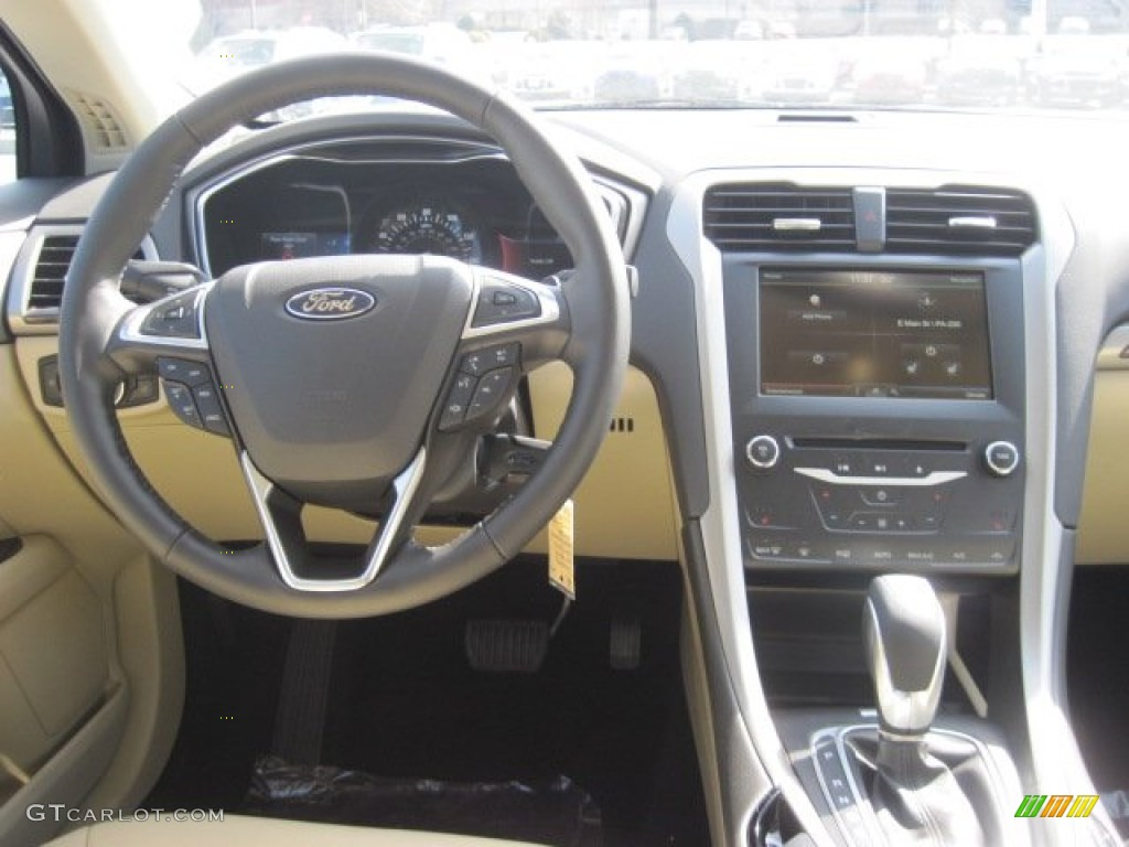 2013 ford fusion se 2 0 ecoboost dune dashboard photo 78026571. Black Bedroom Furniture Sets. Home Design Ideas