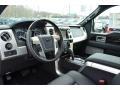 Platinum Unique Black Leather 2013 Ford F150 Interiors