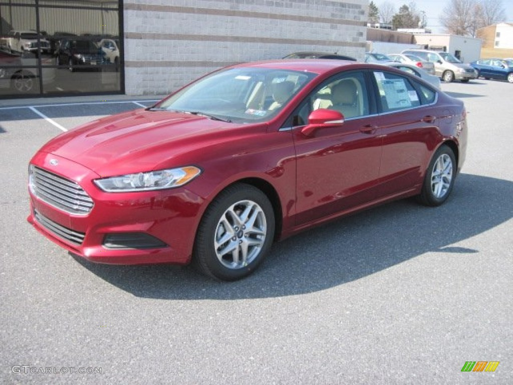 Ruby Red Metallic 2013 Ford Fusion Se Exterior Photo 78028210